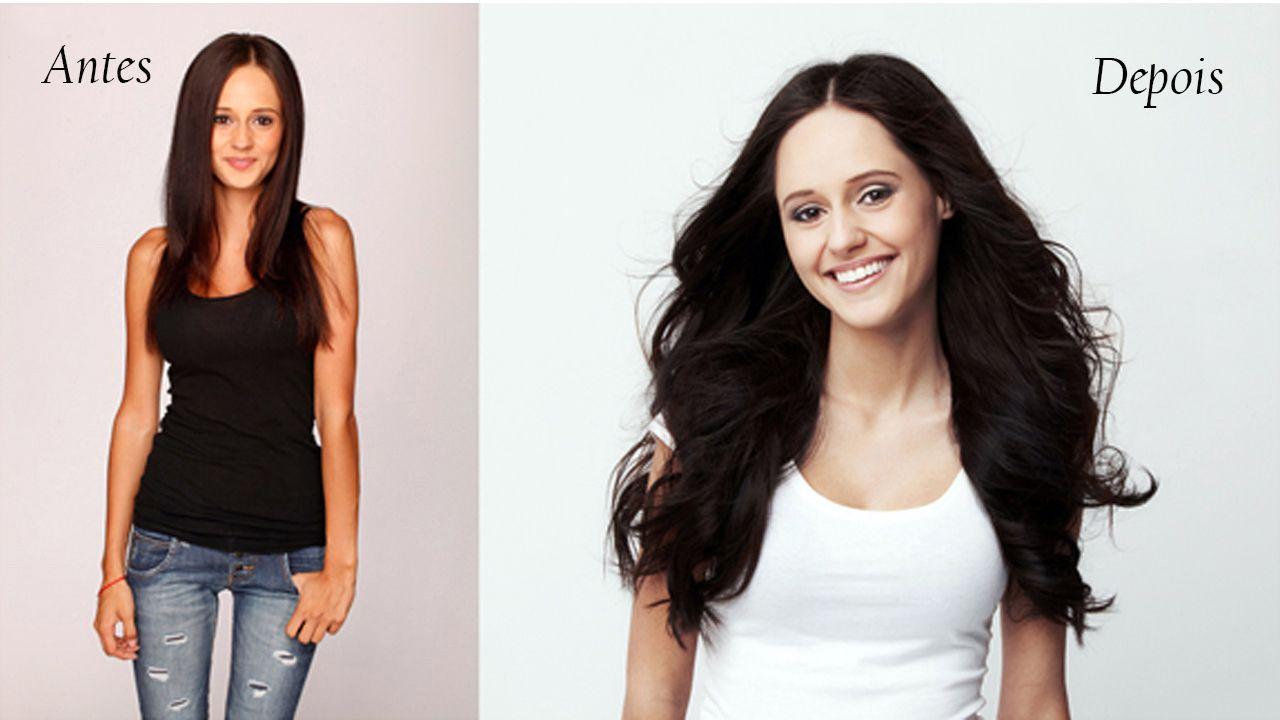 Mega hair antes e depois (2)