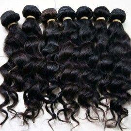 cabelo virgem sem processar